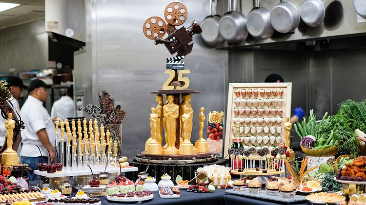 This is the 25th year that Wolfgang Puck has catered the official Oscars after-party. So how does he pull it off year after year?