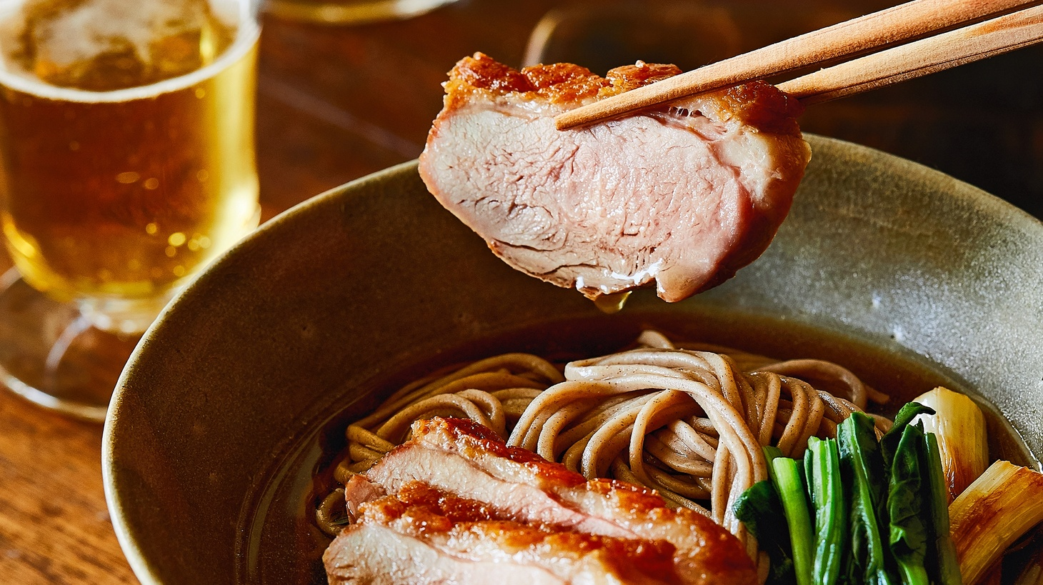 Gaijin Duck Soba, excerpted from The Gaijin Cookbook: Japanese Recipes from a Chef, Father, Eater, and Lifelong Outsider© 2019 by Ivan Orkin and Chris Yang.