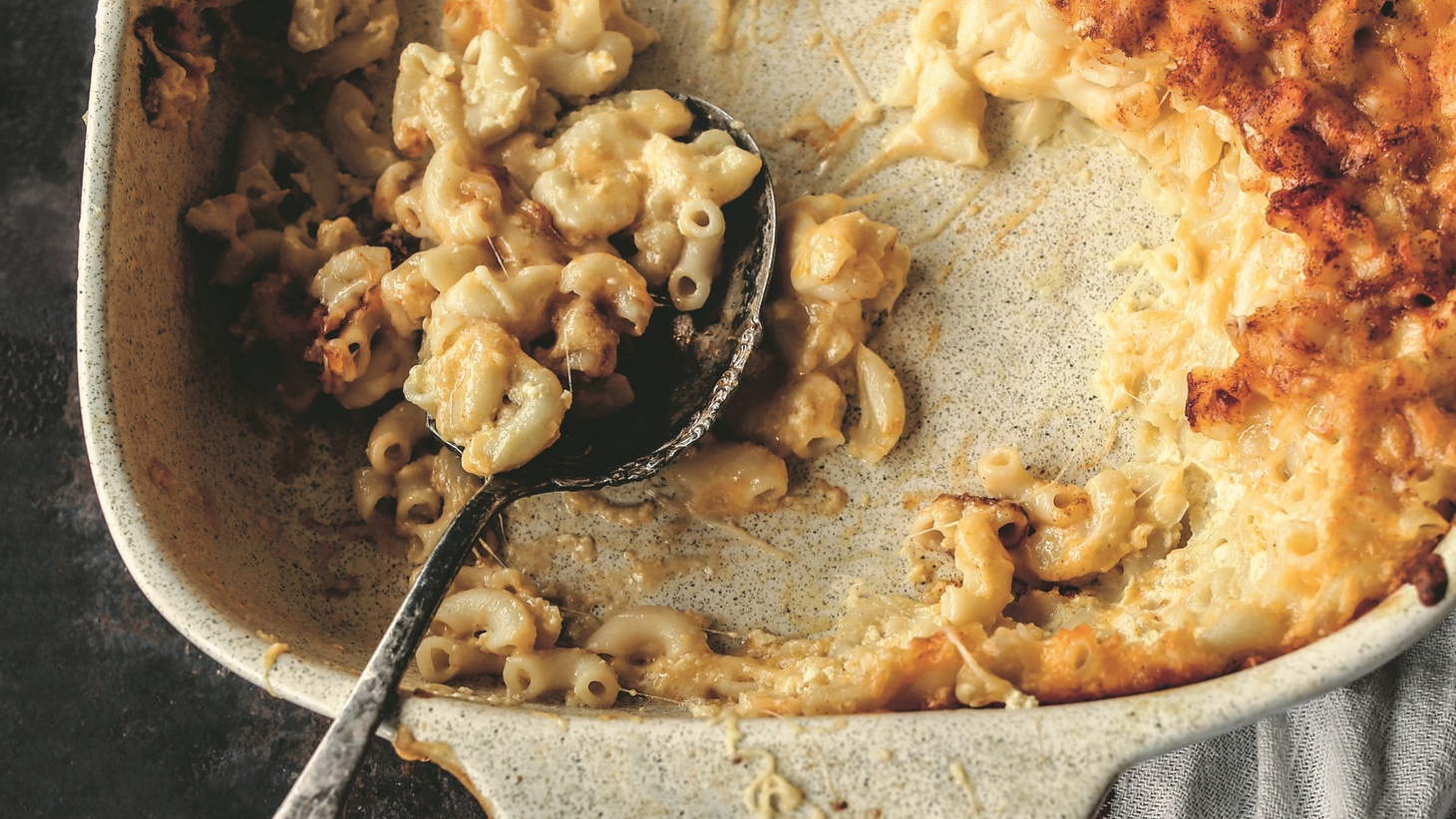 Culinary historian Toni Tipton-Martin describes the sustainability of recipes like macaroni and cheese, which can be traced back to James Hemings, an enslaved chef of Thomas Jefferson.