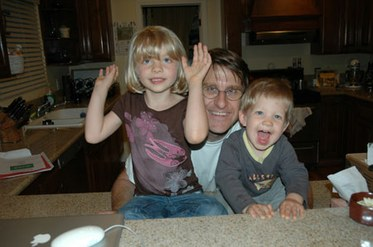 Bob Carlson and Kids