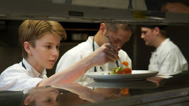 Chef prodigy Flynn McGarry in his restaurant Gem.