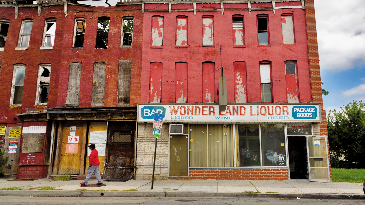Wonderland Liquor is a former Green Book site in Baltimore, Maryland.