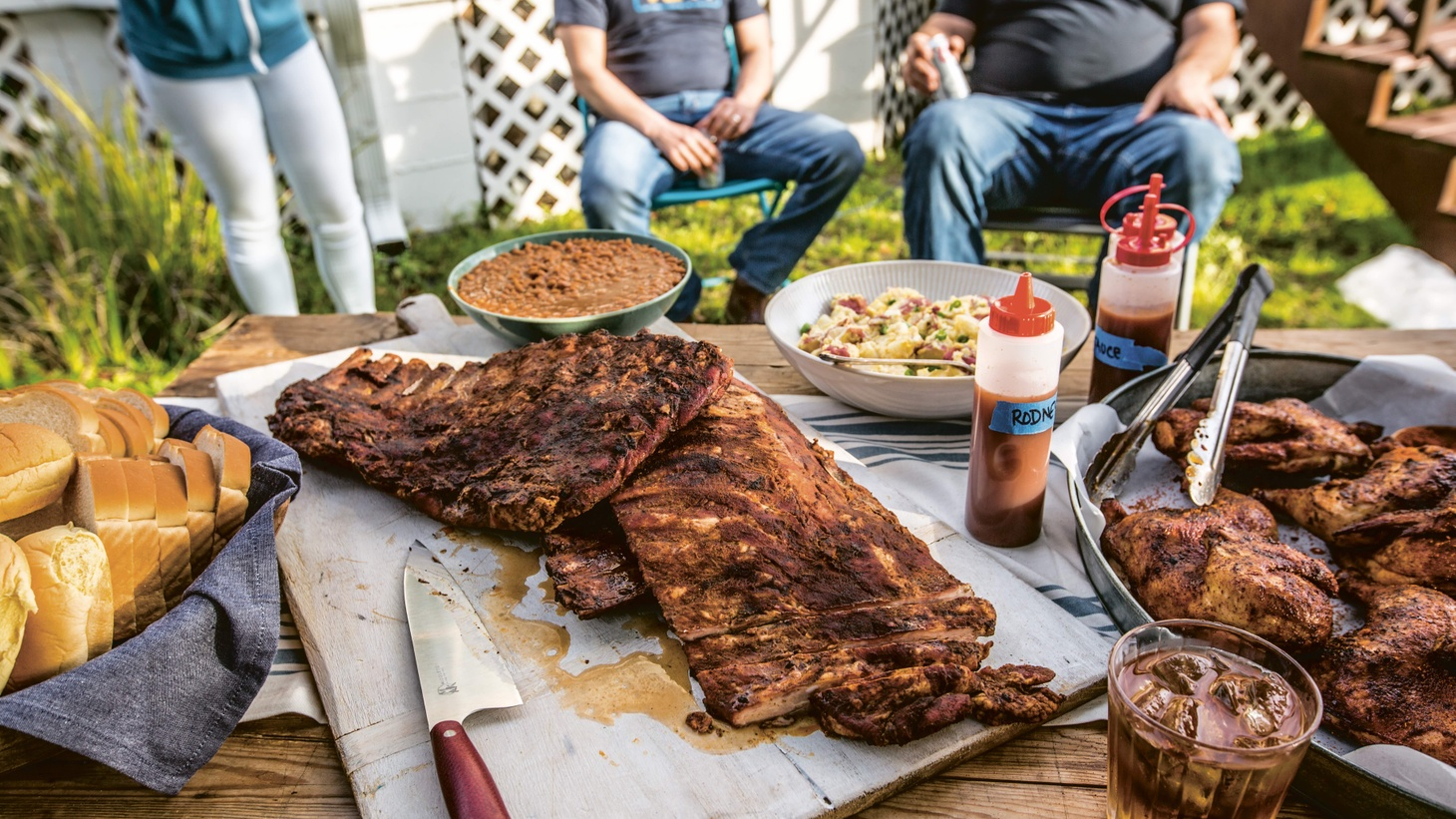 """""""I like spreading the joy and sharing the love, and barbecue is my means of doing that,"""" says pitmaster Rodney Scott."""