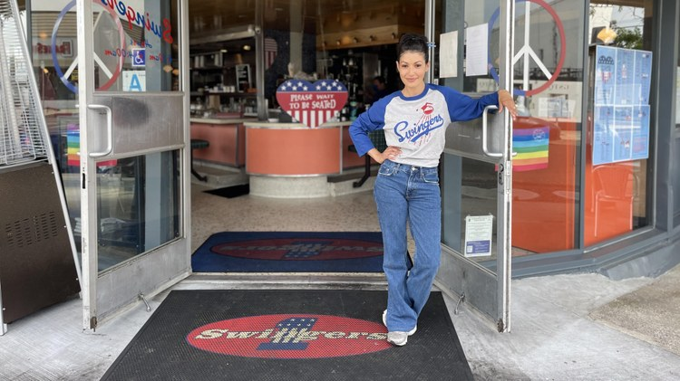 Swingers ' General Manager Stephanie Wilson recalls furloughing her staff on March 16 last year before learning the popular late night diner would be closing for good.