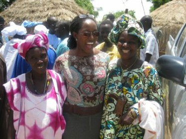 Elizabeth Bintliff in Senegal