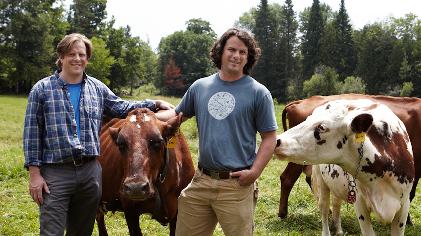 Andy and Mateo Kehler , founders of Jasper Hill Farms.