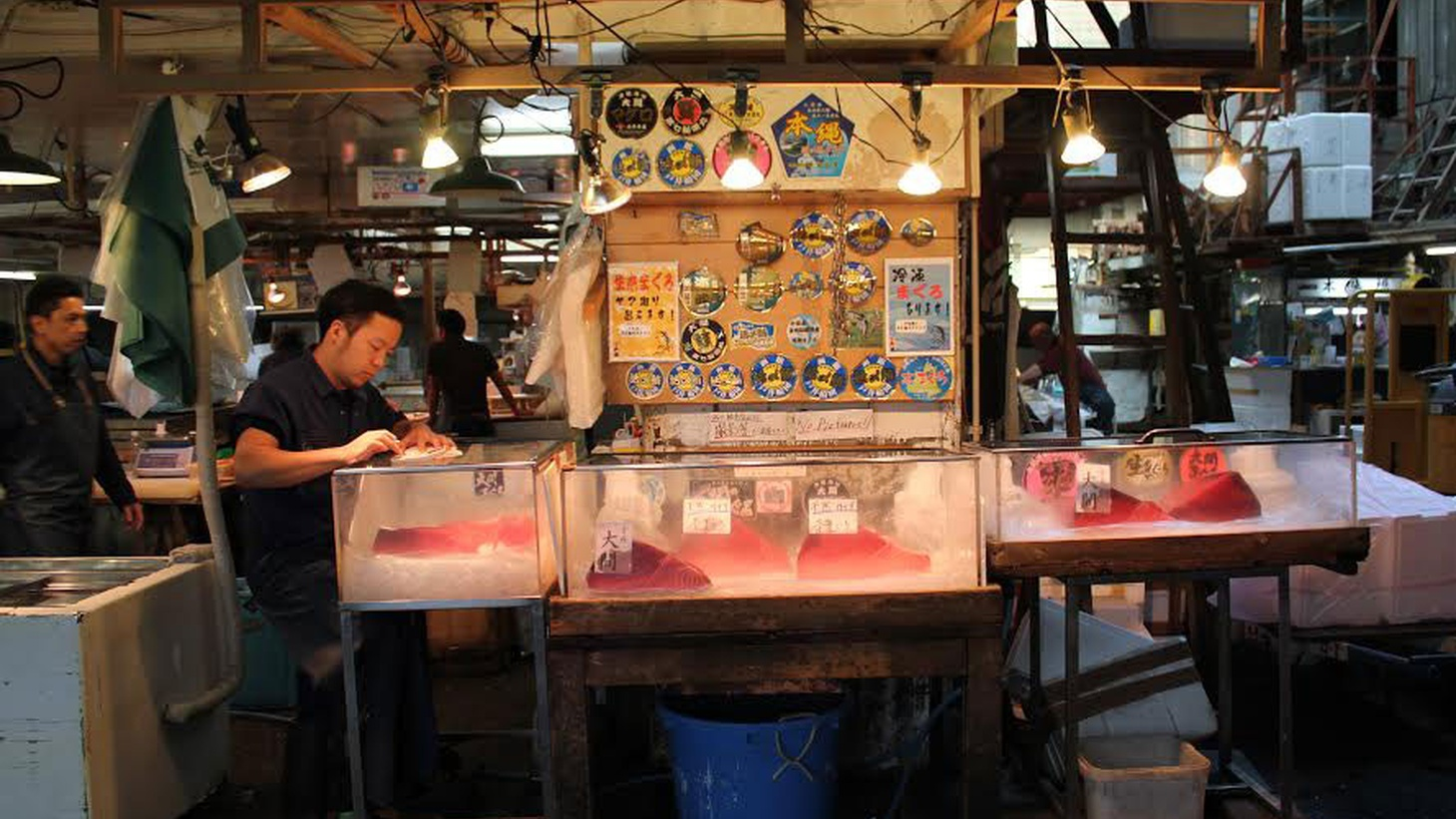 From the Tsukiji Market's tuna auction, to Japanese soul food, to dashi-- we take a look at Japanese cuisine.