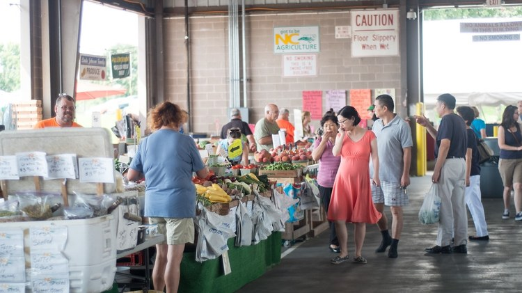 This week Good Food's market correspondent Gillian Ferguson ventured farther afield to pay the bustling  Torrance Certified Farmers' Market    a visit.