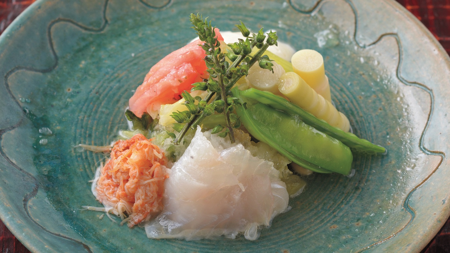 "Seafood Salad from ""Food Artisans of Japan."""