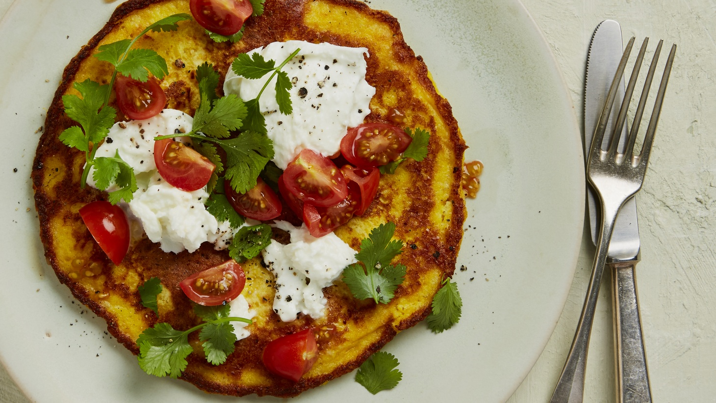 "Sweetcorn Pancakes. Excerpted from ""Lateral Cooking: One Dish Leads to Another"" by Niki Segnit."