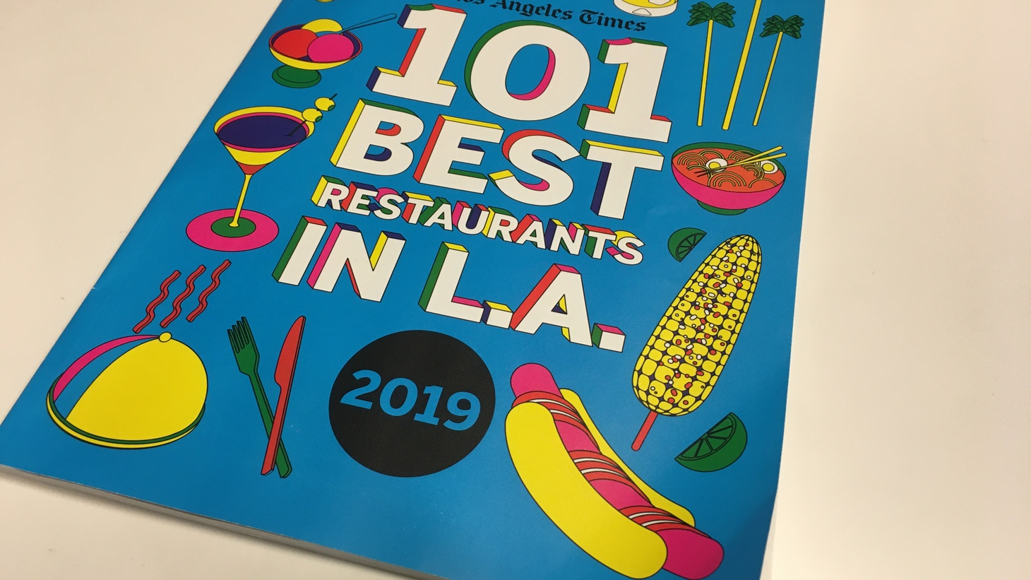 The LA Times 101 Best Restaurants list.