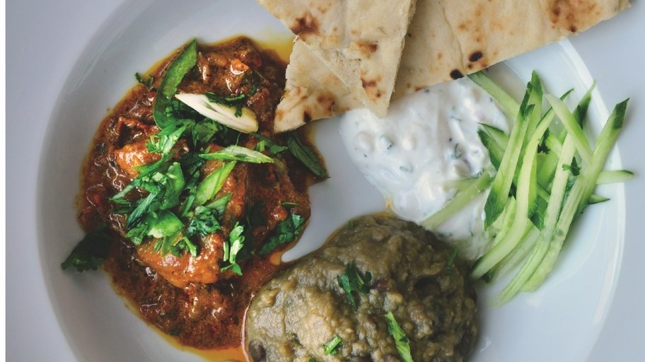 Rumi's dry curry.