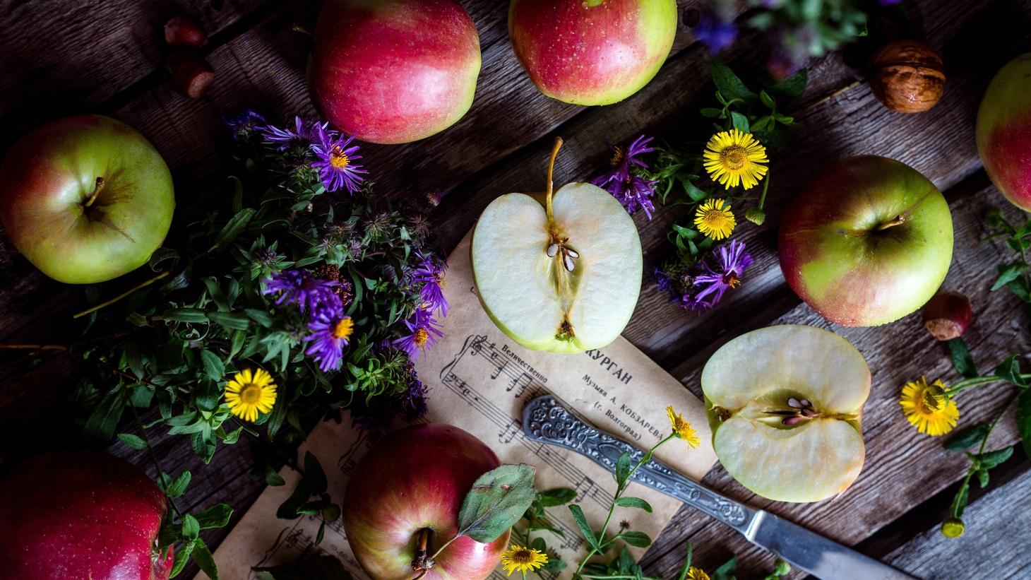 Apple varieties.