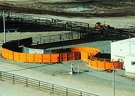 Curved Cattle Corral