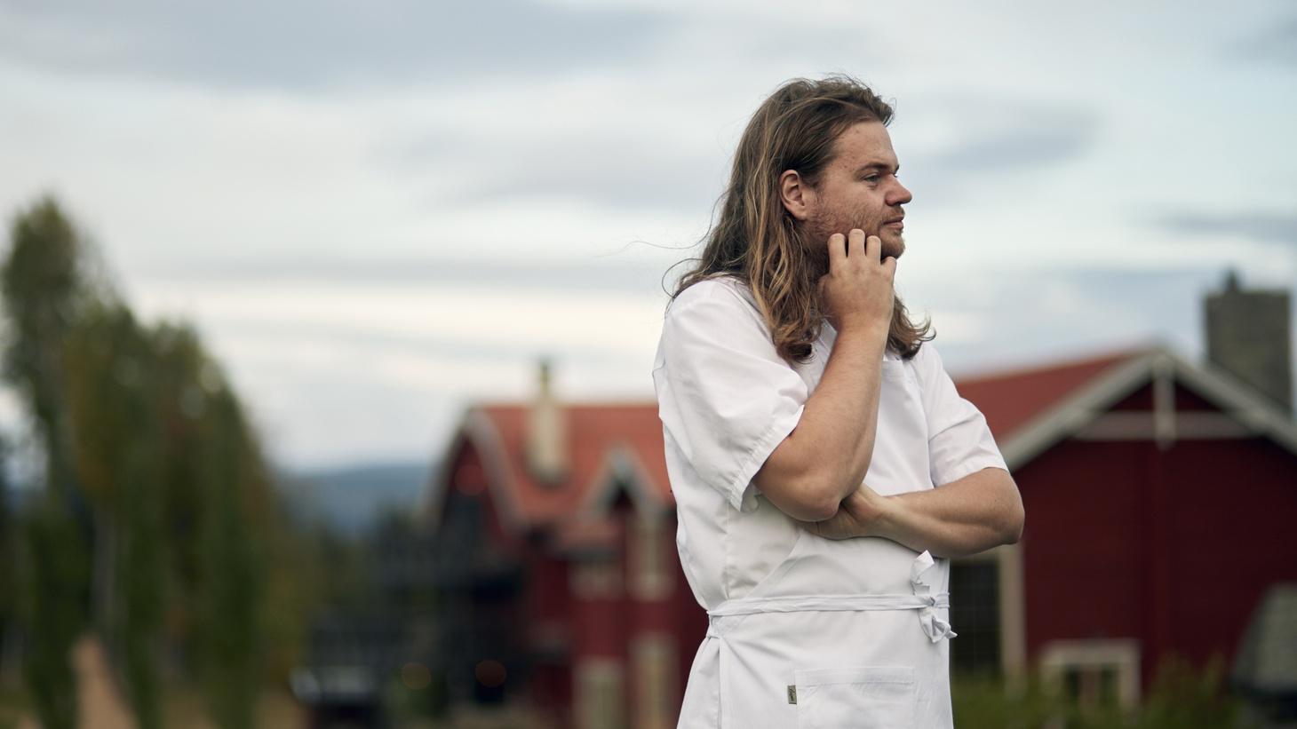 Swedish chef Magnus Nilsson of Faviken.