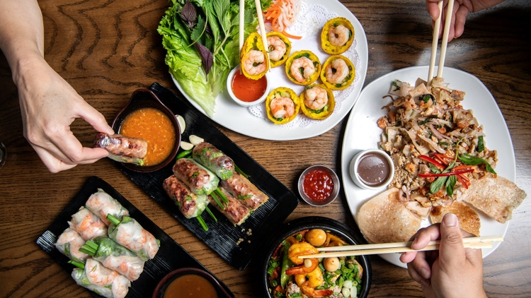 With its sprawling menu, the Vietnamese restaurant Brodard in Fountain Valley caters to all kinds of cravings, from soup noodles to rice plates.