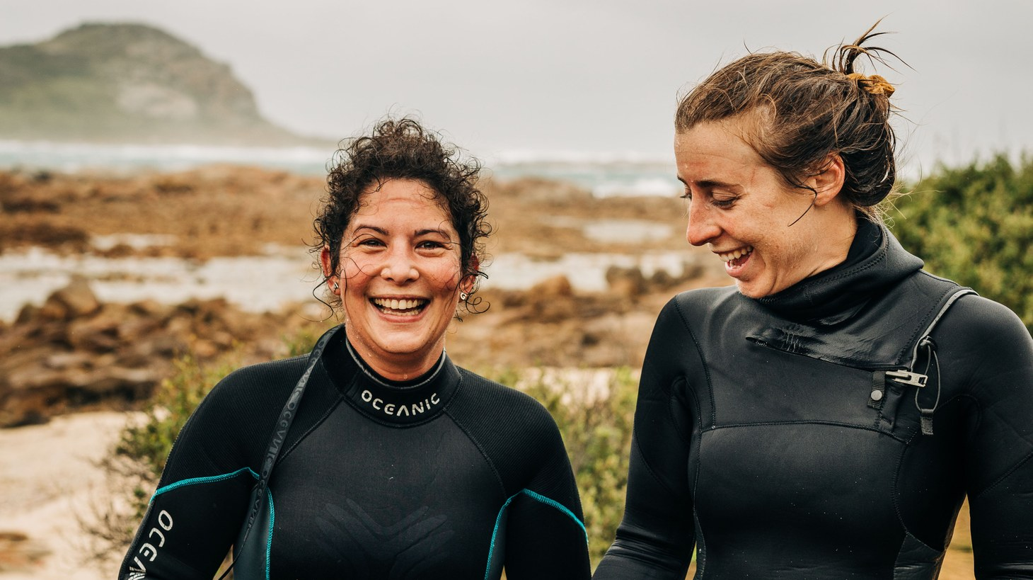 Analiese Gregory describes Tasmania as one of the last great wildernesses, where the ocean is in charge and you lose control.