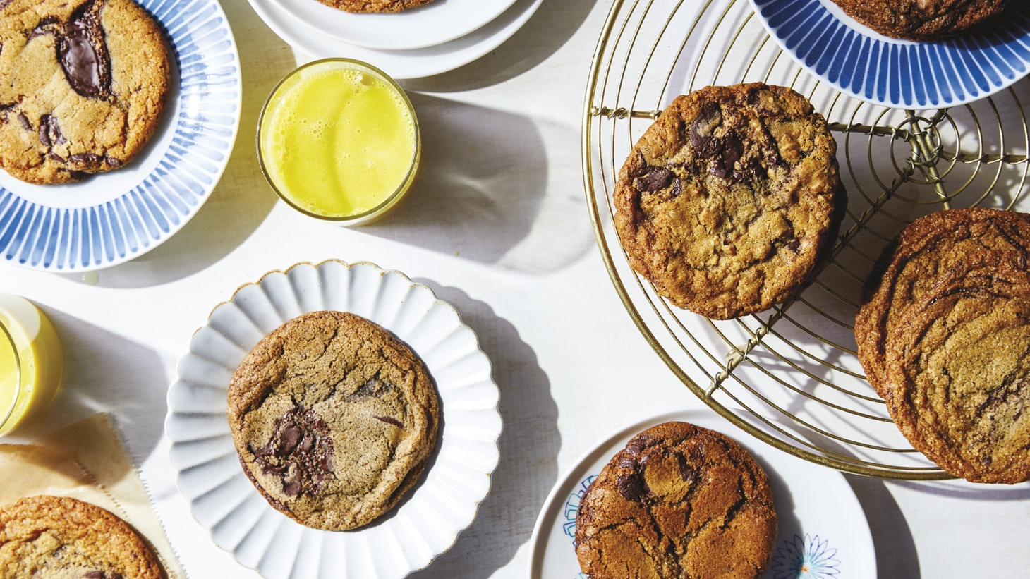 Aiming for an adult chocolate chip cookie? Use buckwheat flour, suggests baker Roxana Jullapat, and pair it with a strong, black cup of coffee.