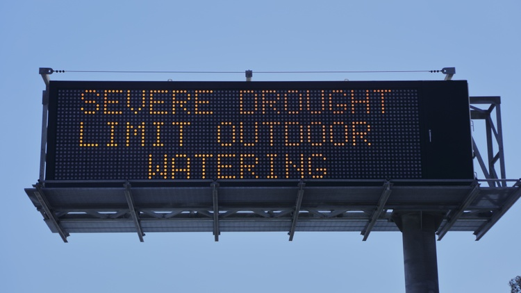 Mother Nature, California drought, water rights