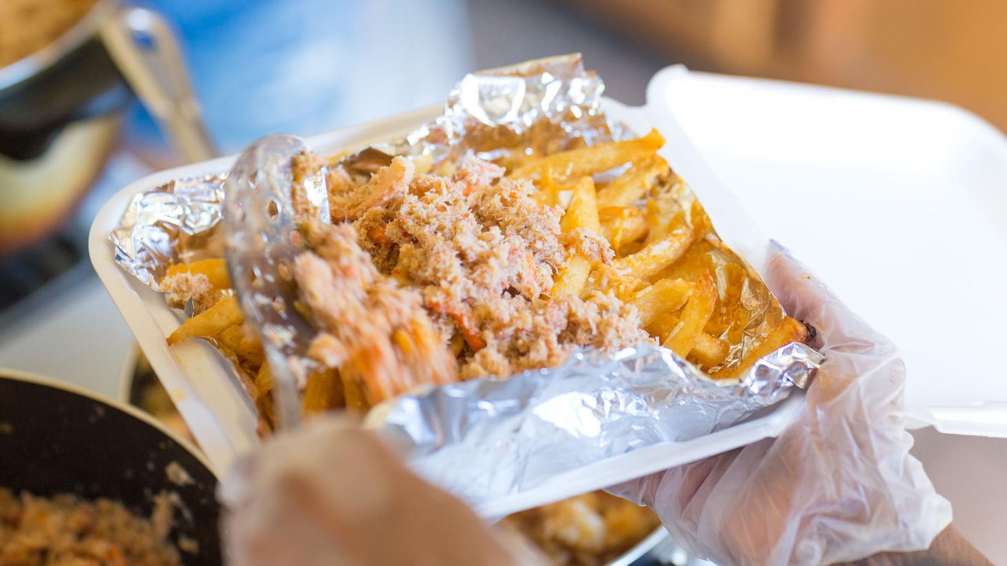 Mr. Fries Man, a business run by Craig Batiste that specializes in tasty, made-to-order fries.