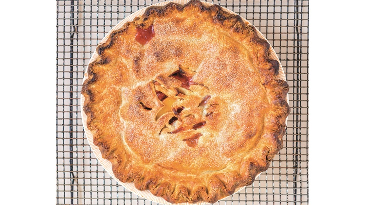 "In 2012, pastry chef   Nicole Rucker   dazzled KCRW's Pie Contest judges, taking home first place in the best fruit, crust, and savory categories, plus ""Best in Show.""   