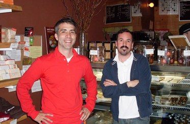 Matt Lewis and Renato Poliafito