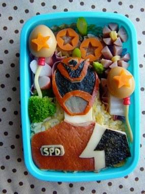 Bento Power Ranger