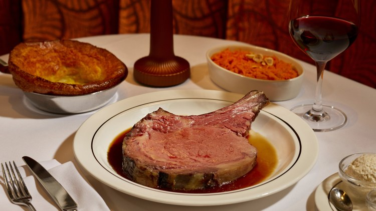 Lawry's The Prime Rib   is an LA institution, and it's celebrating its 80 years by doing something such institutions are not especially known for: changing.   