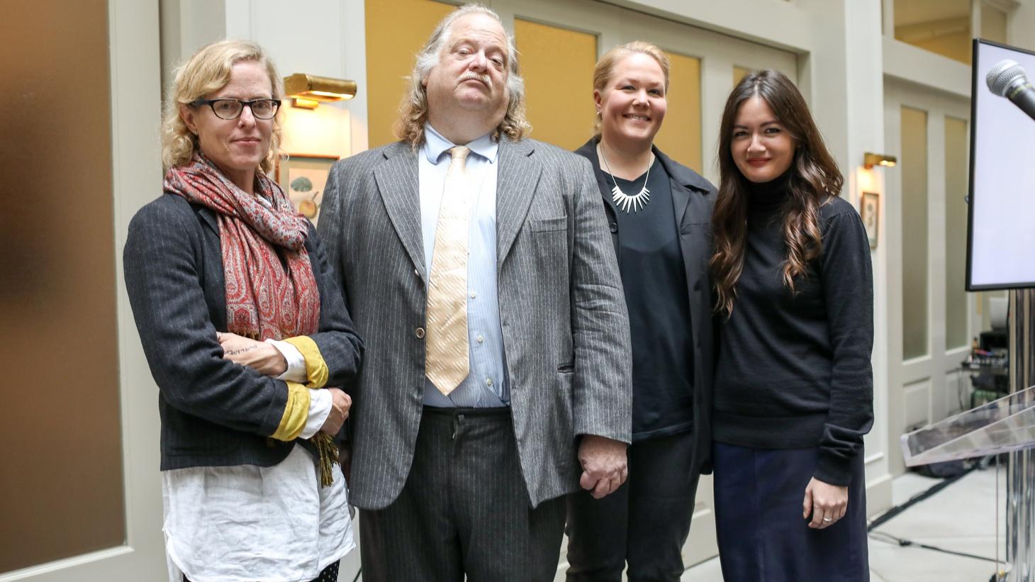L-R. Amy Scattergood, Jonathan Gold, Noelle Carter and Jenn Harris.