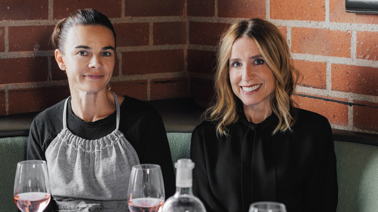 Suzanne Goin and Caroline Styne started A.O.C. as a small wine bar on 3rd Street. They replicate the menu and sprawling wine list in Brentwood, converting their restaurant, Tavern, into a second location.