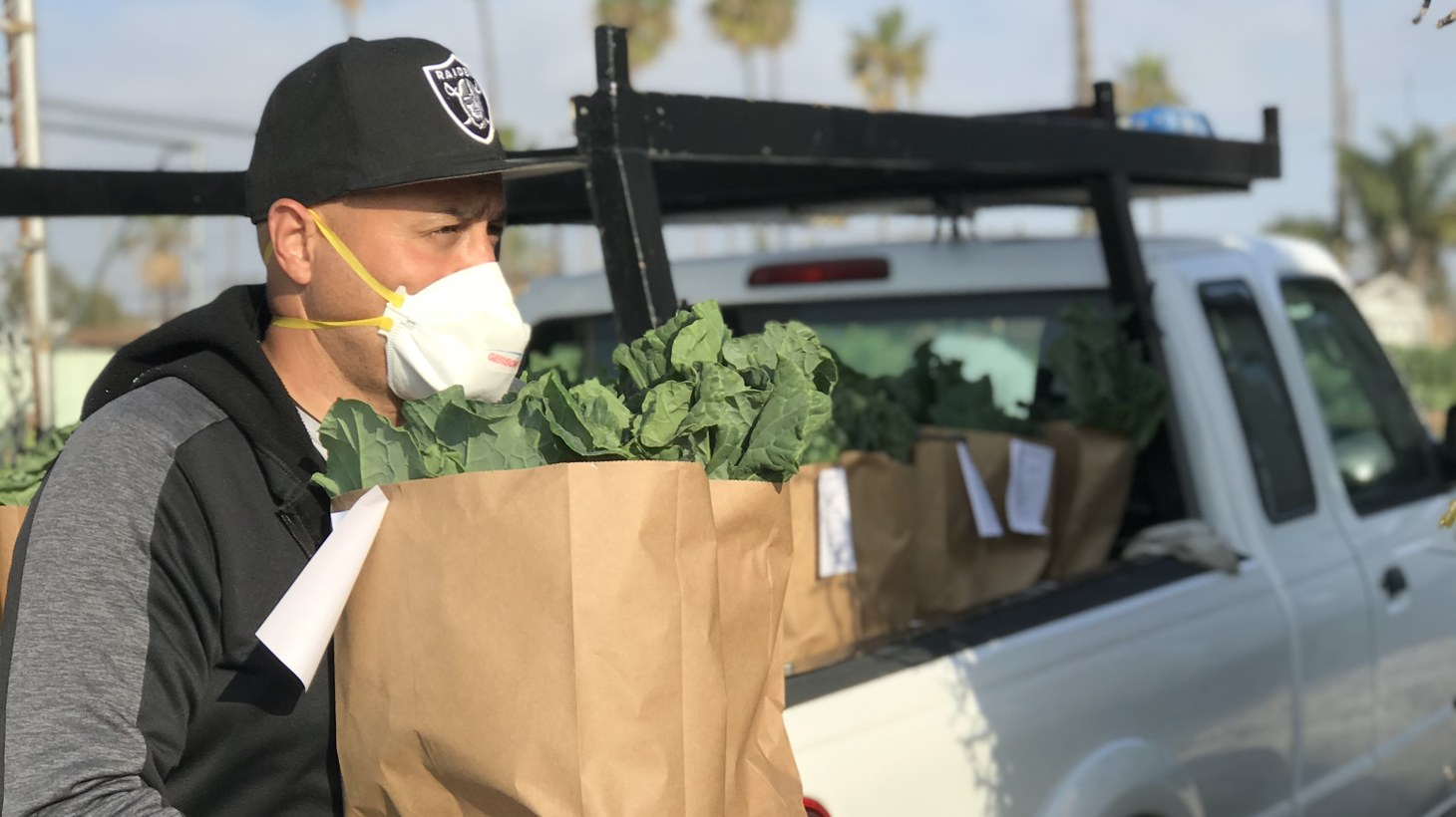 Through ALMA Backyard Farms, Richard D. Garcia works with the formerly incarcerated, teaching skills in farming and distribution.