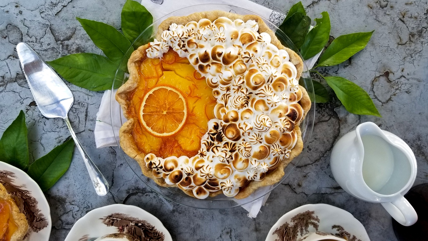 Christina Wong's Seville Orange Marmalade Pie won the Prettiest Pie category this year.