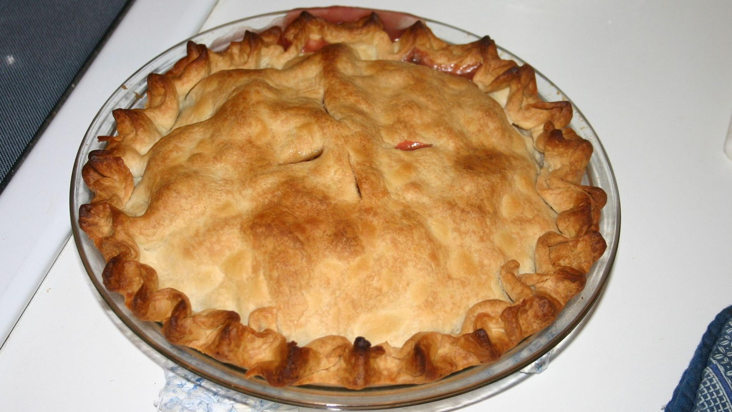 """Beth Kendrick, avid baker and author of the novel, """" The Bake-Off ,"""" shares the recipe for apple pie from her novel."""