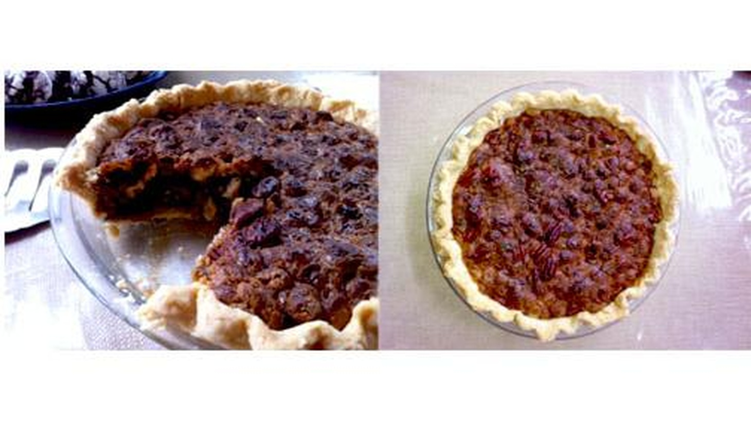 Food Network personality Cat Cora shares her family recipe for White Chocolate Pecan Pie.