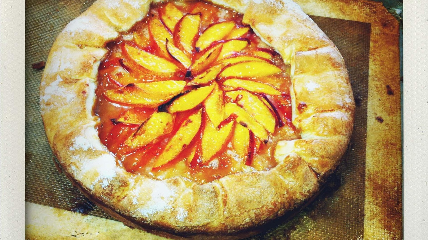 Zoe Nathan, the chef/owner of Huckleberry in Santa Monica, shares her recipe for a Peach Crostata, an Italian-style pie.