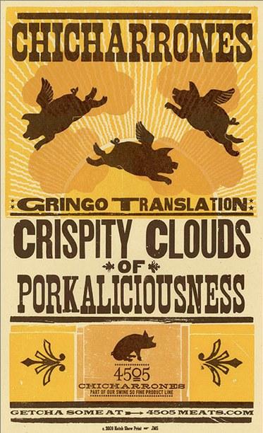 Chicharrones Poster