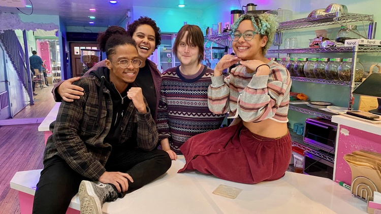 Cuties, the only queer-centered coffee shop in Los Angeles, opened in the summer of 2017.