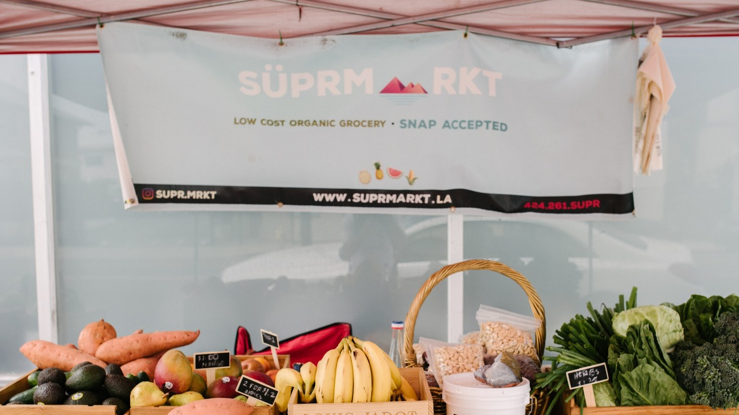 SÜPRMARKT is a low-cost organic grocery that's making healthy eating a reality for many LA residents.