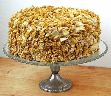 Blums Coffee Crunch Cake