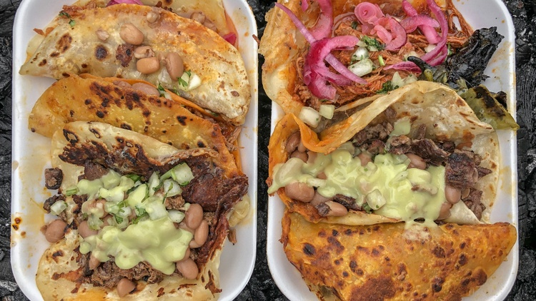 L.A. Times restaurant critic  Bill Addison  takes us to Boyle Heights for a taco circuit must:   El Ruso  .