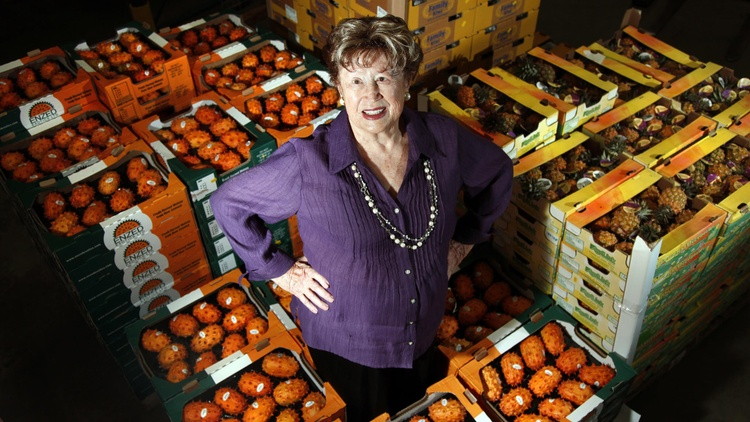 "Known as the ""Mushroom Lady"" and ""the Mick Jagger of the produce world,"" Frieda Caplan was a game changer for how Americans eat."