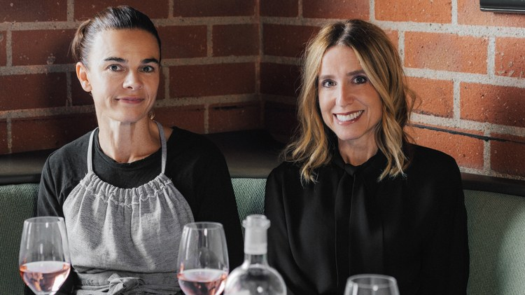 Caroline Styne is half of the powerhouse duo behind   The Lucques Group   of restaurants with her business partner, Suzanne Goin.