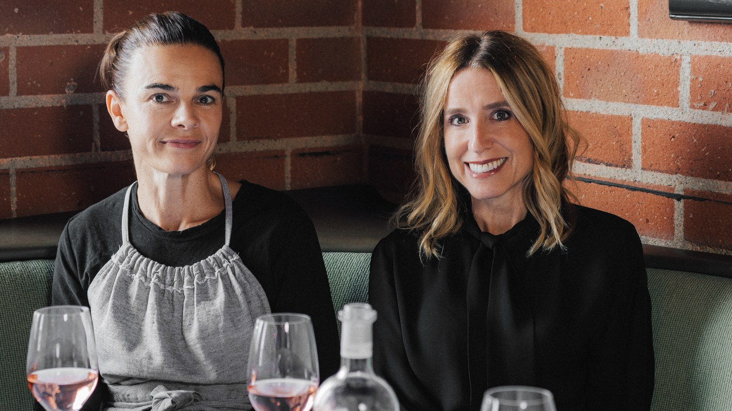 Suzanne Goin (left) and Caroline Styne are the duo behind The Lucques Group of restaurants.