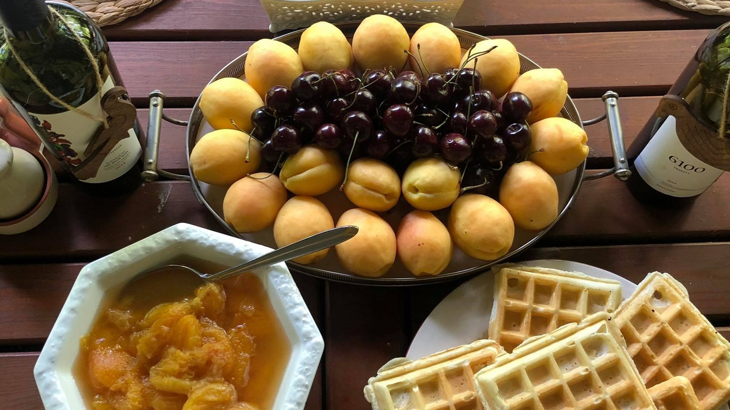 Orange in the Armenian flag represents the apricot, a significant fruit to the culture.