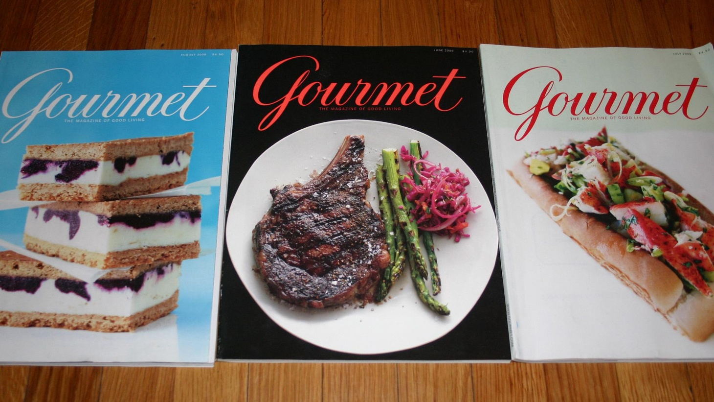 RIP Gourmet Magazine.  Food writers Russ Parsons and Jonathan Gold sort out just what the magazine meant to its readers, and what will take its place.  Plus the outspoken Top Chef non-winner, Stefan Richter stops by.  And the ins and outs of urban farming.