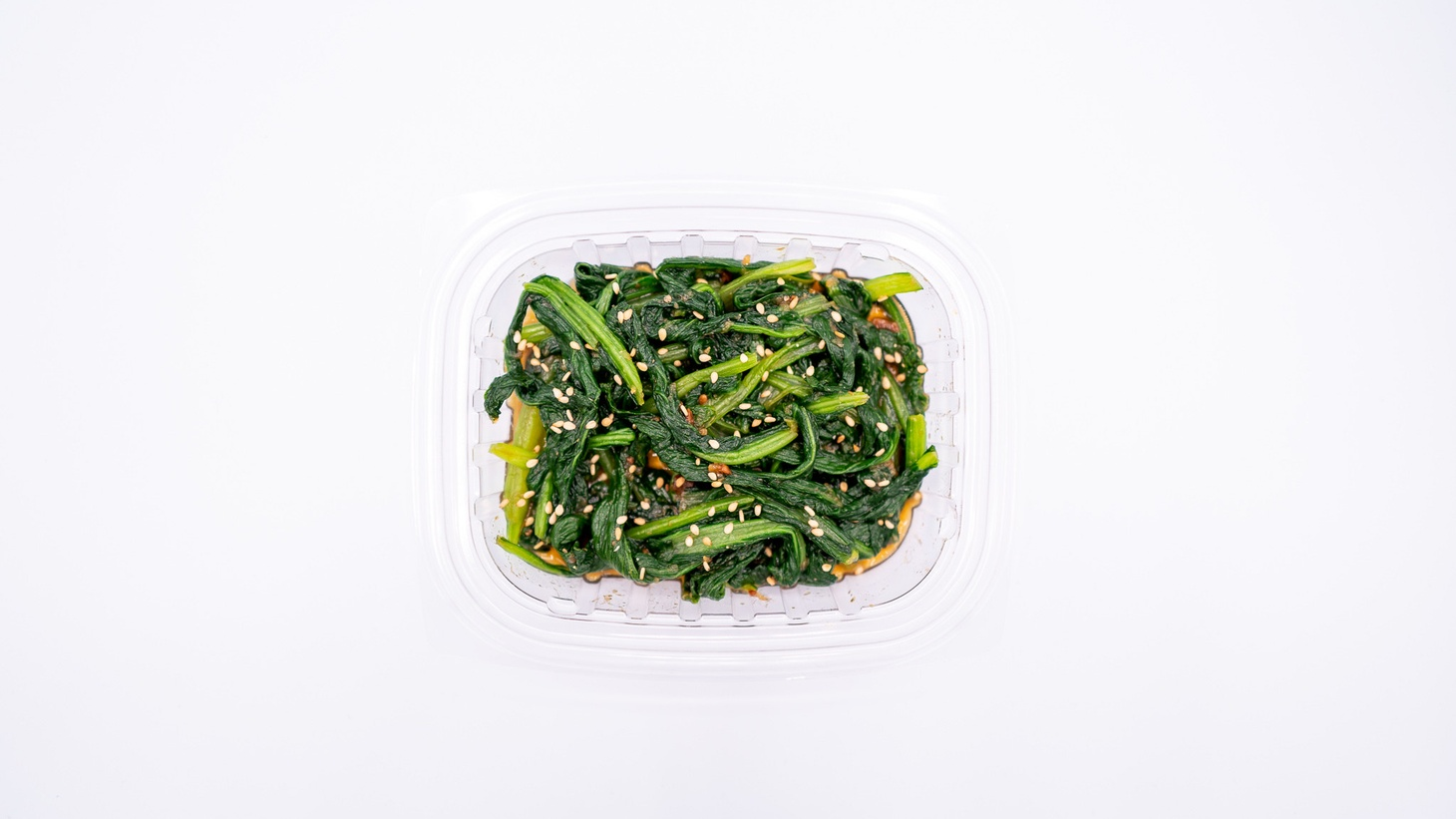 Komatsuna is a Japanese mustard spinach which Jihee Kim is using for her new project, Perilla.