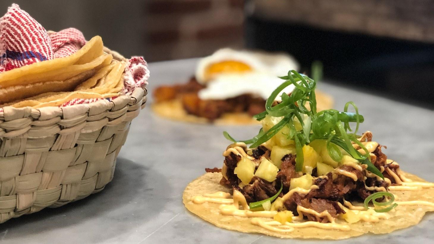 La Huesuda Tacos.