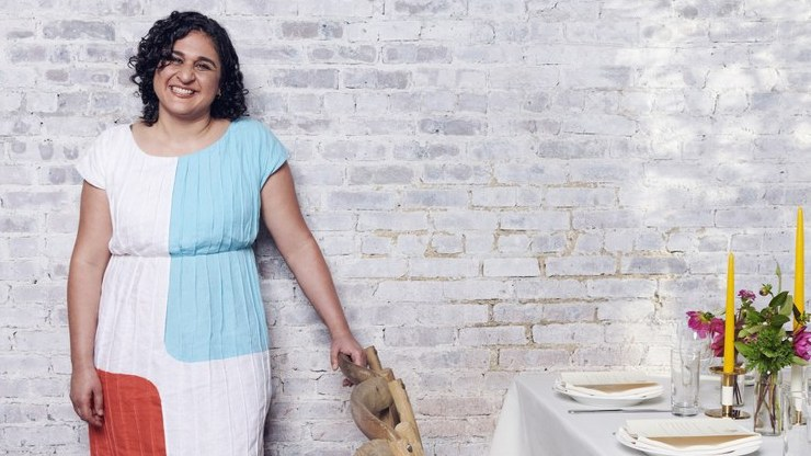 """Based on her bestselling 2017 cookbook, Samin Nosrat's four-part Netflix series """"Salt, Fat, Acid, Heat"""" is earning rave reviews for quietly subverting the conventions of food television."""