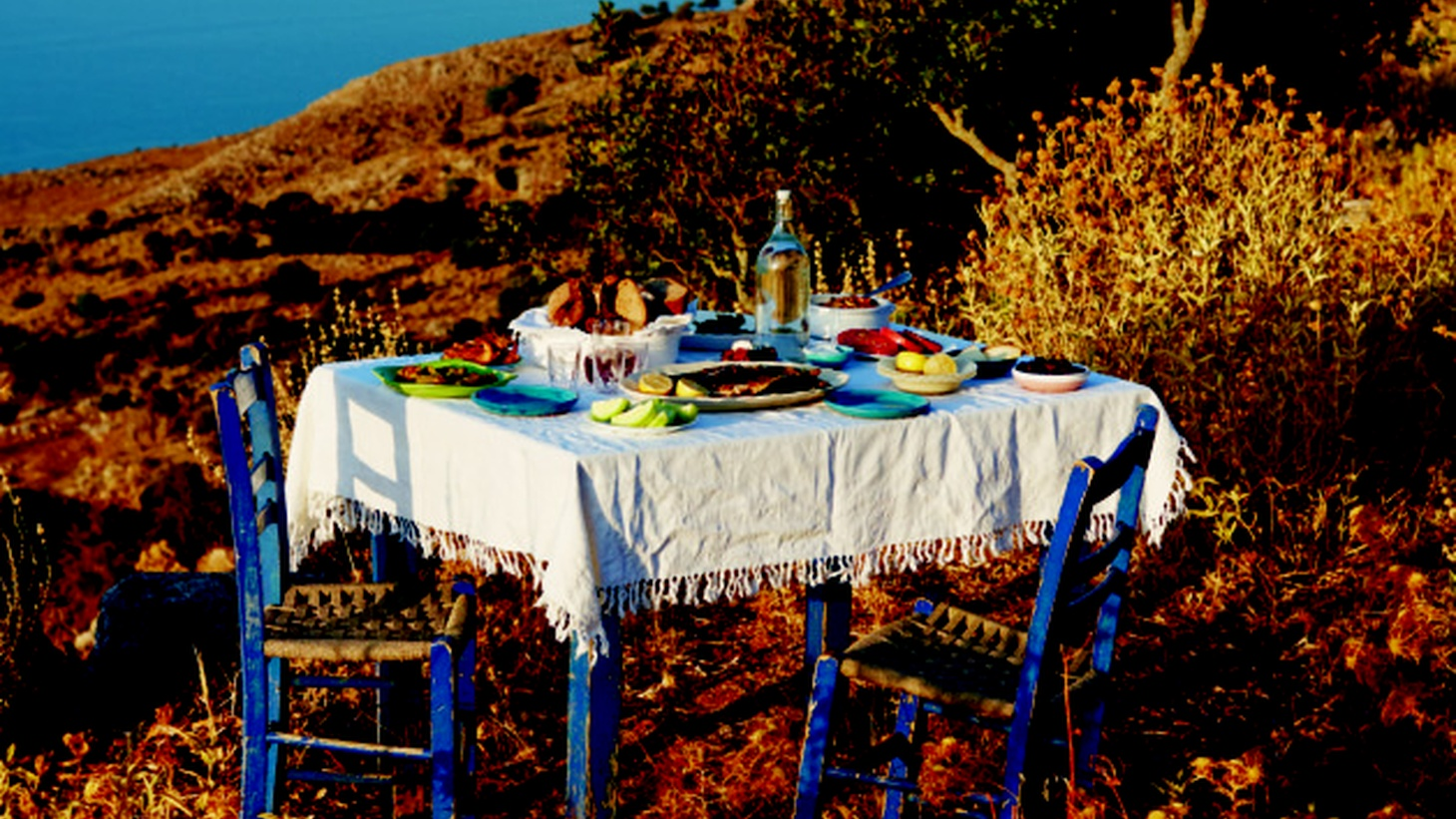 """In her book """"Aegean,"""" Marianna Leivaditaki describes her magical childhood in Greece and working in the family's restaurant, which served her fisherman father's catch."""