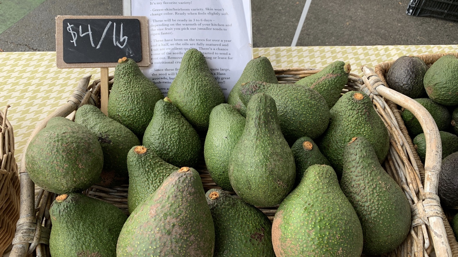 Rincon del Mar Ranch is back at the Santa Monica Farmer's Market this week since taking a hiatus in March.